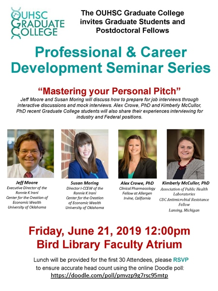 Professional & Career Development Seminar Series
